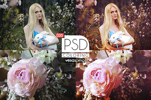 PSD Coloring 035 by vesaspring