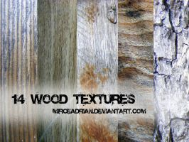 14 Wood Textures by MirceAdrian