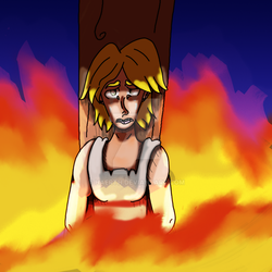 Goretober Day 25: Burned At The Stake by Haerth