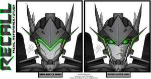 TFP: OC Recall - Facial Reference by MessyArtwok
