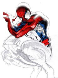 Spiderman incompleto by Fabbianz