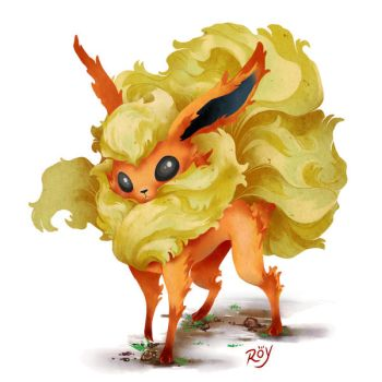 Flareon by Roy-Flowers