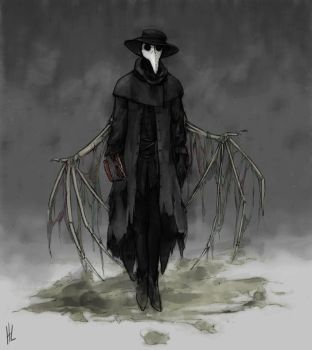 Interminables Apocrypha - the Plague Doctor by plangkye