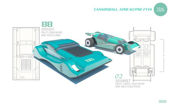 ReferenceModel-AltCars-TEAL by DMStrecker