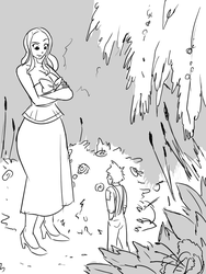 The Giantess's Garden: Illustrated Story: #1 by a0040pc