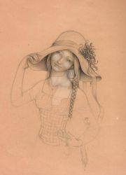 Country Woman by Diguera