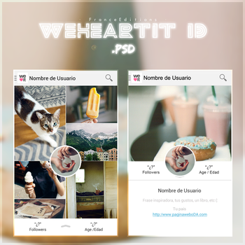 WeHeartIt ID .psd by FranceEditions