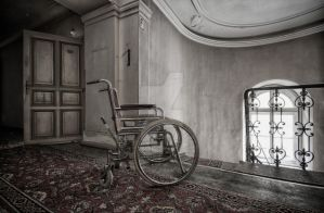 wheelchair... by FatmeBondage