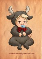 Baby Kristoff By Moonchildinthesky by MoonchildinTheSky