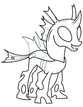 mrowymowy 1 0 thorax coloring page by mrowymowy