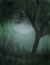 Forest background by Dawn2Nightfall