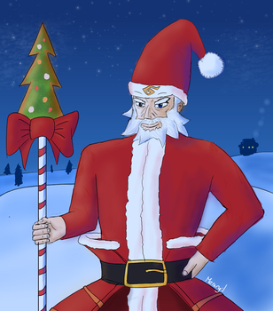 Merry Christmas! No training today by Merengil
