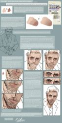 COLORING SKIN n FACES Tutorial by DOXOPHILIA