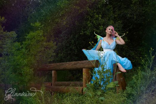 Zilla308 as a Fairy in the Air Gown by Glimmerwood by glimmerwood