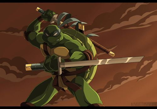 TMNT 2k3 - Leonardo by Nimueth