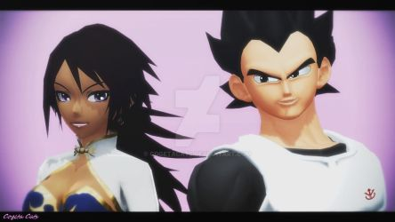 MMD - Vegeta and Akira by CogetaCats