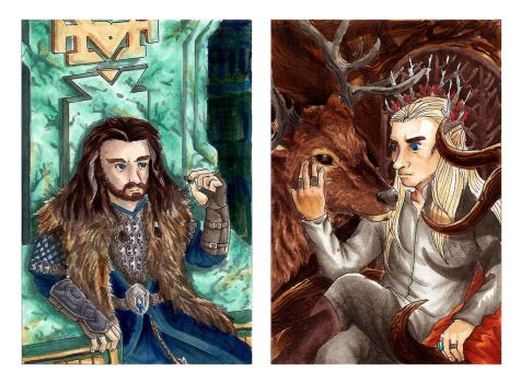 The Kings of Middle Earth by PATotkaca