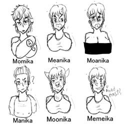 The many faces of Nyo!Germany by PanTran