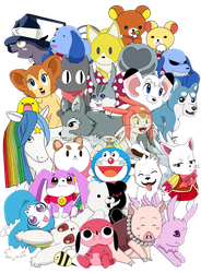 Mascot Mashup 2015 by ToonTwins