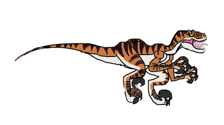 JP Lost World Male Velociraptor by masonthetrex