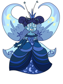 Crescenta's butterfly form by infaminxy