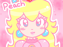 Peach in Pastels by Peach-X-Yoshi