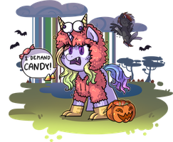 GASP! A Muppet Monster horse!?! by KYAokay