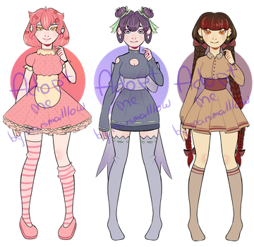 Adoptable batch(OPEN 1/3(MONEY ONLY)) by marsmalllow