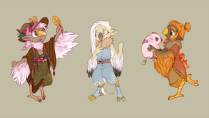 Adopts#18 LOZ Rito [closed] by Medekhgui