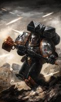 Raven Guard Assault veteran by warhammer40kcampaign