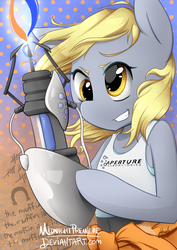 If You Give a Pony a Portal Gun by midnightpremiere