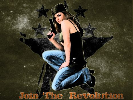 Join The Revolution by mct2art