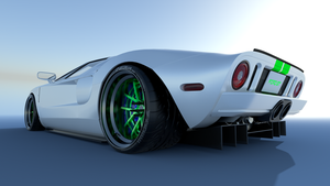 Ford GT WIP by Shiroutsuri