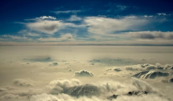 Above the Clouds by Pyruzan
