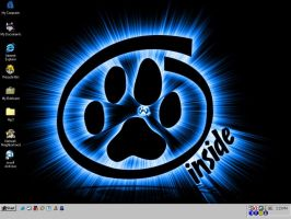 current background and icons by Caldy