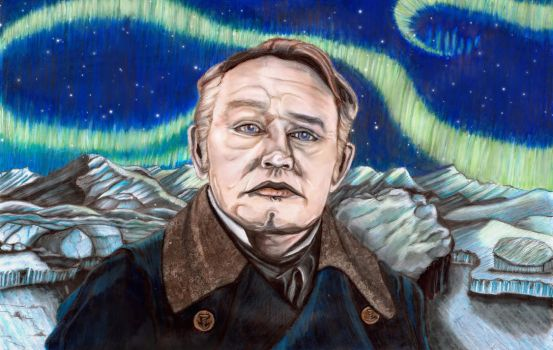 Captain Crozier - Jared Harris by SeptemberGloaming
