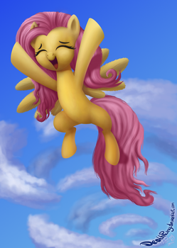 Flutteryes by DeathPwny