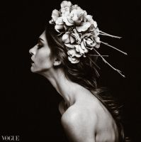 Sarah on Vogue-IT by DonteTidwell