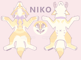 .:OTA:. Niko Adopt Closed by peachycafe