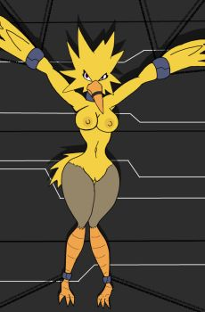 Zapdos girl by Nidrog