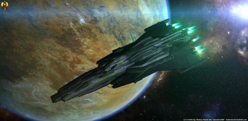 Prothean Dreadnought by Euderion