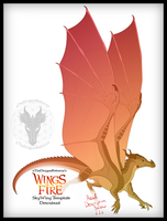 2018 SkyWing Template Download by xTheDragonRebornx