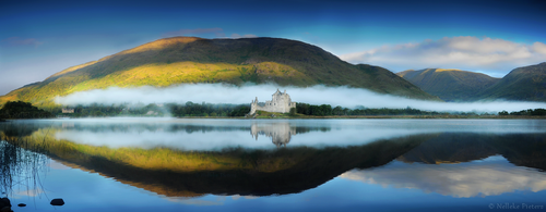 Scottish Reflections by Nelleke