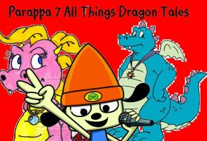 Parappa in Dragon Tales by unseendino