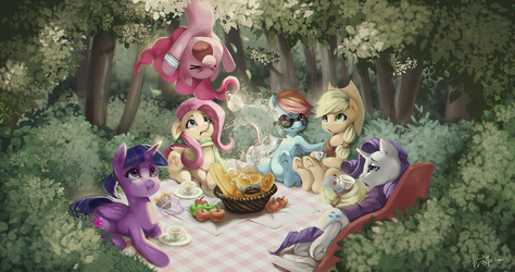 Picnic by Meruprince