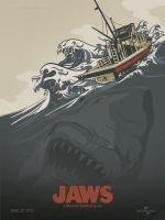 Jaws Poster by browniedjhs