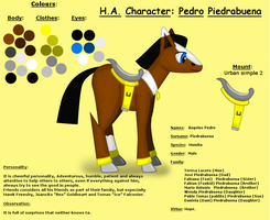 HA-Character Reference: Pedro by pk-condor