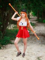 Nami Whole Cake Island Climatact Cosplay One Piece by firecloak