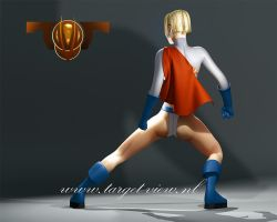 Powergirl 3D model p2 by TargetView