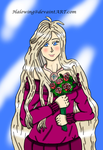 Art Trade: Lovely as Roses by Halowing